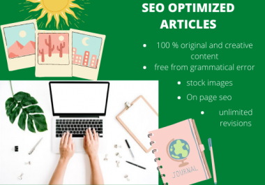 write your seo optimized 1000 words article