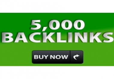 Create 5,000+High Quality backlinks For Your Landing page.