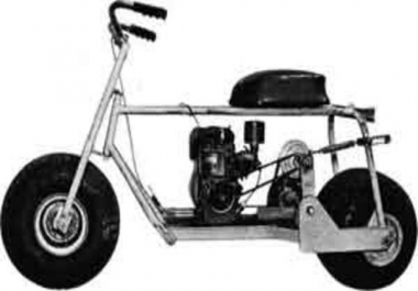 send you mini bike plans