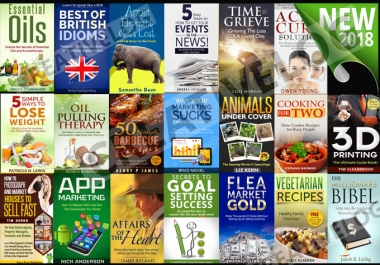 Give you 25 Ebooks of any Category of your choice