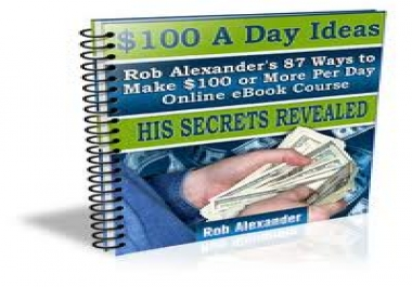 offer you a directory to show you 87 ways to make dollar 100 a day