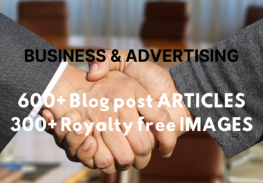 provide over 600 business and advertising articles