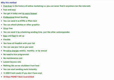 Give Bulk Email - Give You ALL You Need To Start a Self-Hosted BULK Email Marketing - Hurry Now Limited Time OFFER