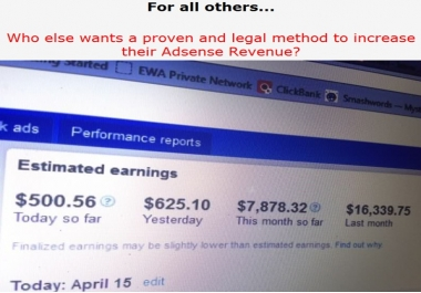 give you Top Methods 493% Income Increase Over Night