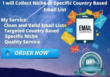 collect 500 email id for your business purpose