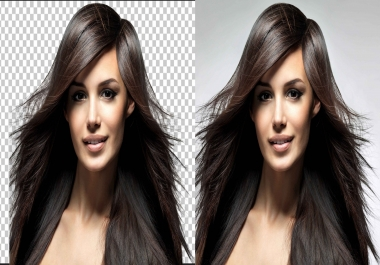 do a Photoshop background removal of 15 images