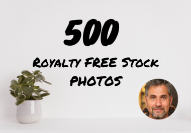 provide 500 royalty free stock images of any topic