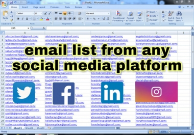 create a niche targeted email list for email marketing campaigns
