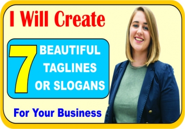 CREATE DISTINCTIVE NAMES AND SLOGANS FOR YOUR BUSINESS, BRANDS/PRODUCTS
