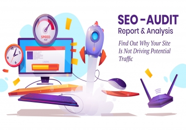 provide expert SEO audit, report, and analysis