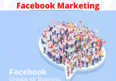do facebook post in group promote your Business million of peoples
