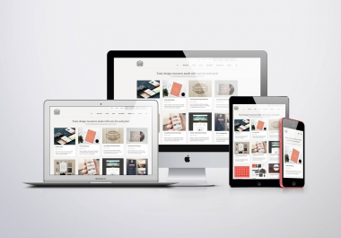 create  elegant looking WordPress website