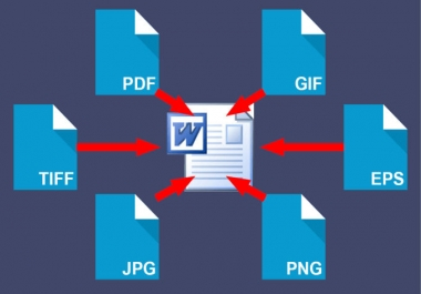 rewrite png jpg PDF scanned pages and image files for you
