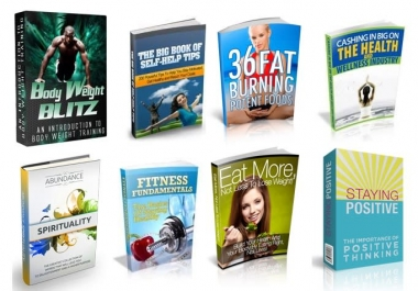 give you 100 fitness and health ebooks with resell rights