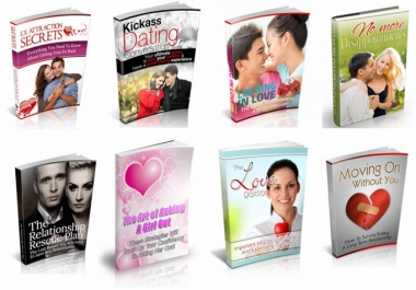 give you 100 dating and relationship ebooks MRR
