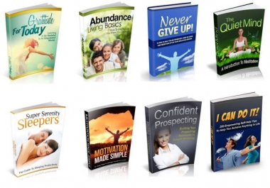 give you 100 self help ebooks with resell rights