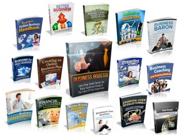 give you 100 Business & Marketing Ebooks with resell rights