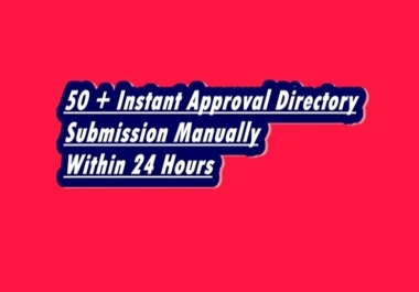 do 75 + high  da instant approval directory submission manually