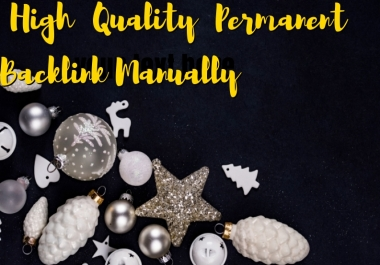 Create 50 + High Quality Permanent Backlink Manually