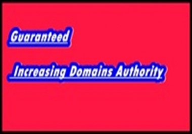 Promote Your Website Organically And Increase DA With Guarantee