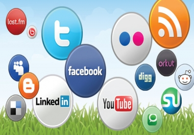 make social media account for you