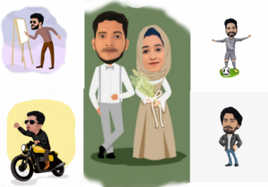 draw awesome cartoon caricature from your photo