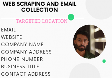 do web scraping and email collection for your marketing purpose