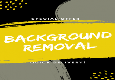 do any photoshop background removal