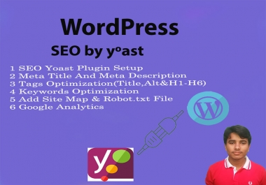 fully optimize wordpress SEO and performance