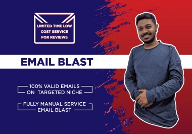 provide bulk email list on a targeted niche