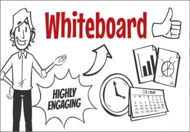 create whiteboard animation video or explainer video