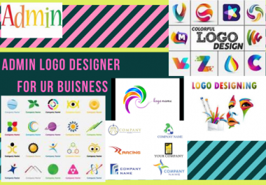 do logo design in an administrative way