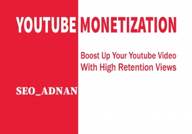 help you to get youtube monetization