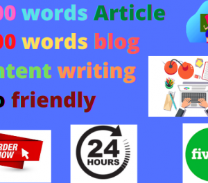 write 1000 words article and blog in one day