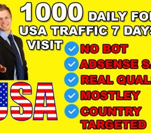 give direct traffic visitors from USA United STATES