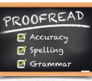 Proofread and edit your blog post, facebook business post, essay paper or anything under 5,000 words