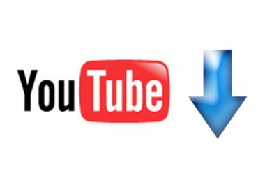 convert any 5 YouTube videos to 5 quality mp4s or mp3s