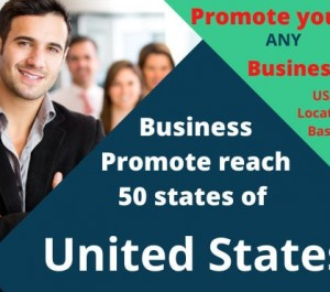 promote your business USA reach 50 states of peoples