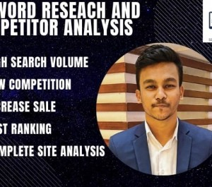 provide excellent kgr keyword research to rank your website