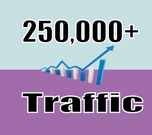 Give you HQ 250,000+ website traffic visitors from worldwide