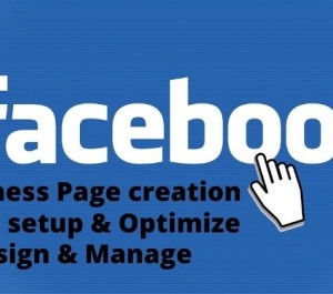 set up and design Facebook business page