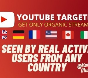 Give ORGANIC YOUTUBE VIDEO PROMOTION FROM ADS