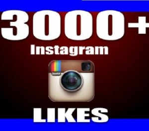 Give Instant 3,000+ Instagram Likes Real & Non Drop