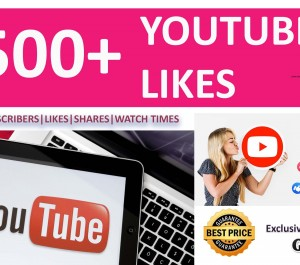 provide you 1500+ High Quality YOUTUBE Likes for your Videos