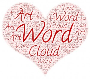 do typography design and word cloud art in 24 hour