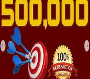 Give you HQ 500,000+ website traffic visitors from worldwide