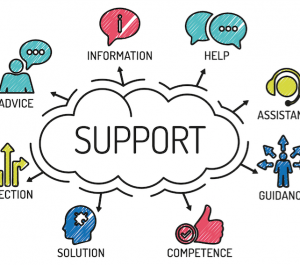 provide E-MAIL AND CHAT SUPPORT