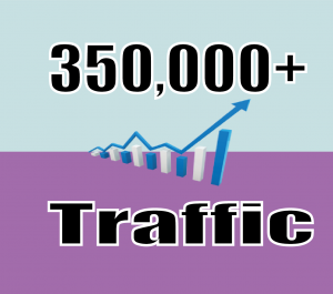 Provide 350,000+ website traffic visitors from worldwide