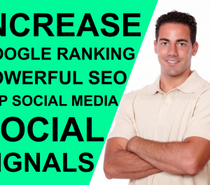 add 2000 High Quality SEO Social Signals for website Google Ranking