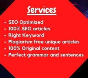 SEO article writing blog writing content writing